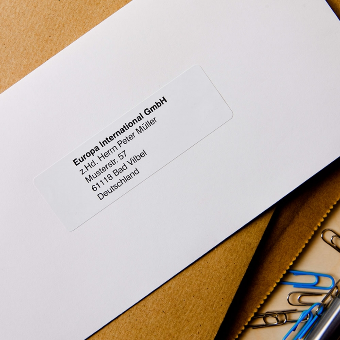 Etichete termice autocolante compatibile, Brother DK-11201, hartie alba, permanente, 29mmx90mm, 400 etichete/rola, suport din plastic inclus DK11201-C-big