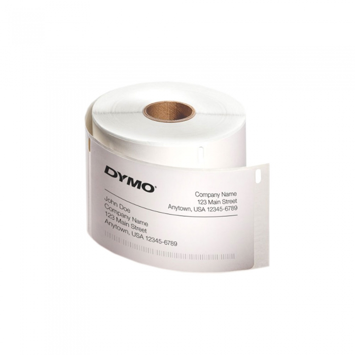 Etichete termice, DYMO LabelWriter, repozitionabile, 57mmx32mm, hartie alba, 12 role, 2093095 11354 S0722540-big