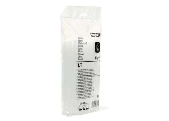 Batoane lipici Rapid LT Ø12 mm x 190 mm, transparent, temperatura mica, 1.000 g, punga-big