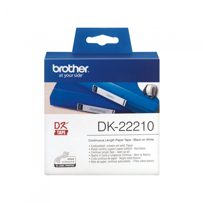 BROTHER DK22210 TAPE 29MM CONTIN PAPER-big