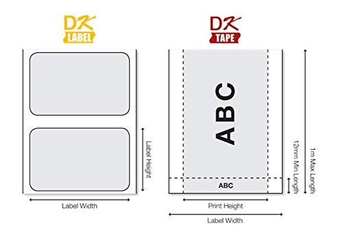 Eticheta originala modul continuu hartie Brother DK22205, 62mm x 30.48mm, BH DK22205-big