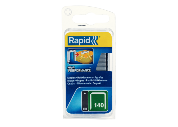 Capse Rapid 140/10 mm, otel, 650/ blister-big
