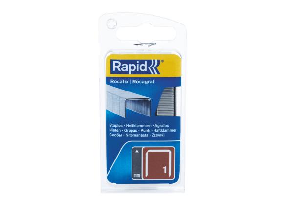Capse Rapid BMN/10mm, galvanizate, 1.080/ blister-big