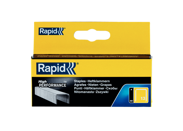 Capse Rapid 13/6 mm, galvanizate, 2.500/ cutie-big