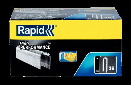 Capse Rapid 36/14 mm, galvanizate, divergente, 1.000 buc/cutie-big