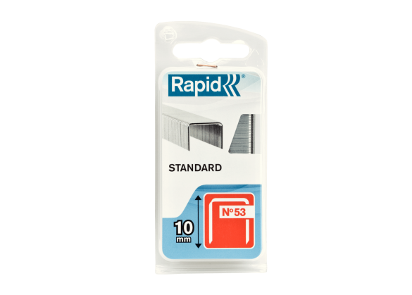 Capse Rapid 53/10 mm, STANDARD, 1.060/ blister-big