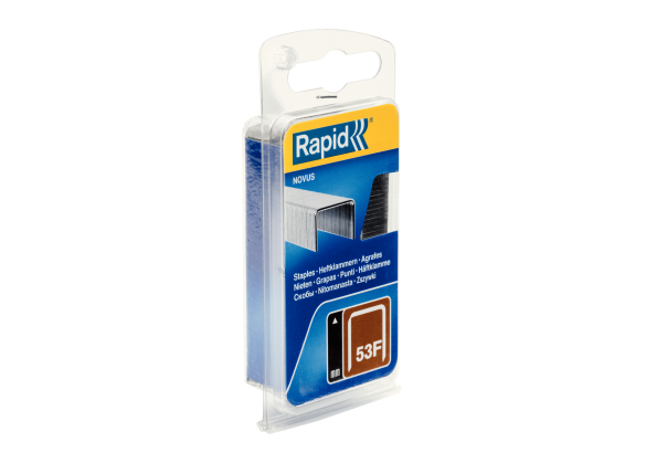Capse Rapid 53F/10 mm, galvanizate, 648/ blister-big