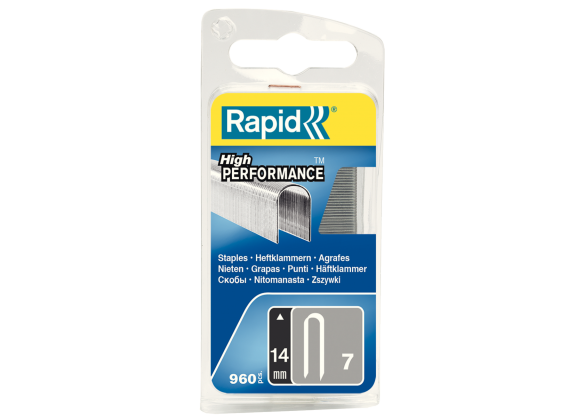 Capse Rapid 7/14 mm, galvanizate, 960/ blister-big