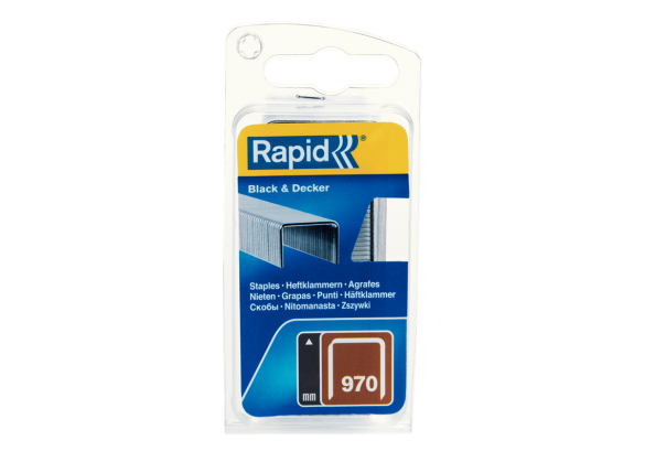 Capse Rapid 970/12 mm, galvanizate, 670/ blister-big