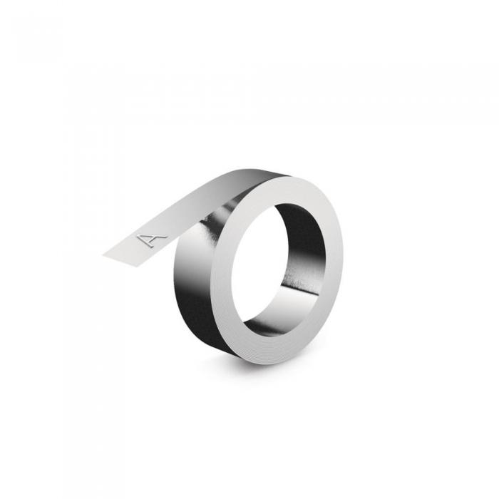Etichete metalice embosabile industriale DYMO, 12mmx4m, aluminiu, 31000 S0720160-big