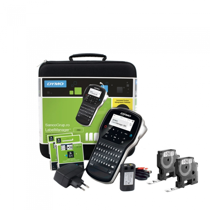 Dymo LabelManager 280 Kit Label Printer and 4 supplies S0968990-big