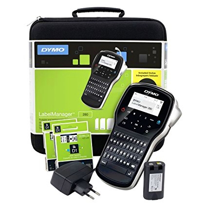 DYMO LabelManager 280 Label Maker kit case S0968990 968990-big