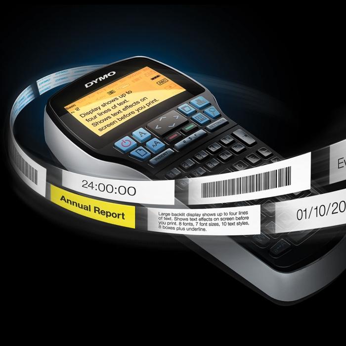 Aparat etichetat (imprimanta etichete) DYMO LabelManager 420, conectare la PC, S0915440 S0915470 915440-big
