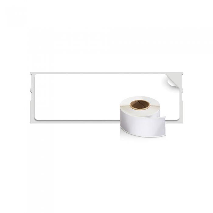 Etichete termice, DYMO LabelWriter, adrese, permanente, 28mmx89mm, hartie alba, 12 role/cutie, 130 etichete/rola, 99010 S0722370 2093091-big