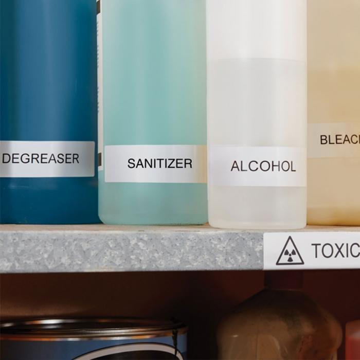 Etichete termice industriale, DYMO LabelWriter Durable, 25mmx89mm, polipropilena alba, 1 rola/cutie, 700 etichete/rola, 1933081-big