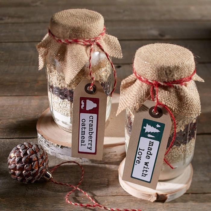 Etichete LabelWriter din hartie Lumberjack Holiday (dimensiuni 89 mm x 28 mm) 130 buc/rola (1960101) DY1960101-big