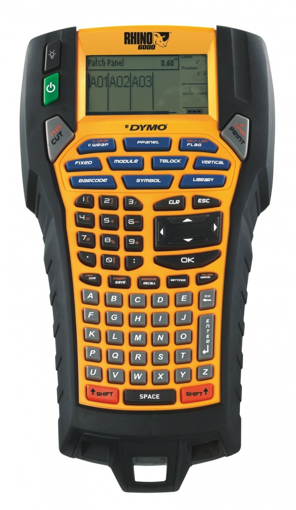 Industrial Label Maker Dymo Rhino 6000, 24 mm, PC conection, S0773800-big