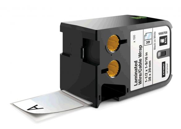 Etichete industriale autoadezive DYMO XTL, vinil autolaminant, 38mm x 39mm, 1868708-big