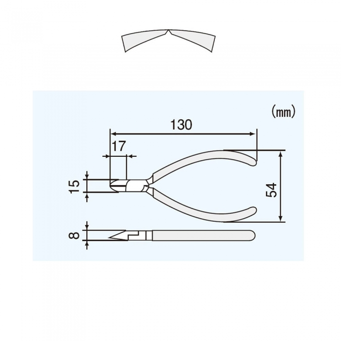 ENGINEER NK-15 Cleste taiere diagonal, 125 mm-big