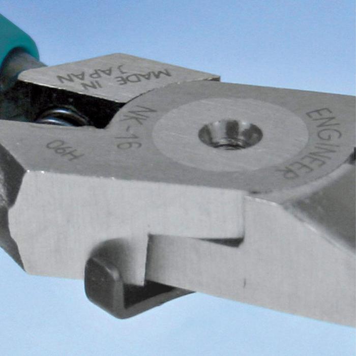 Cleste taiere diagonal ENGINEER NK-16 , 153 mm, 133g, verde-big