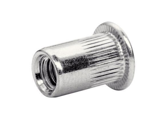 Piulite Nit Rapid M6, galvanizate, burghiu inclus, 20 buc/ blister-big