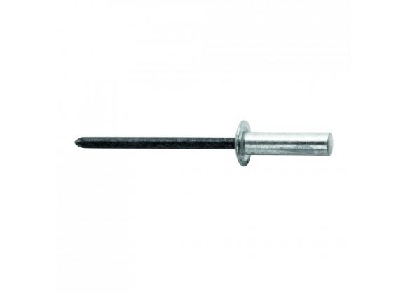 Popnituri Rapid etansare - diametrul de 4 mm x 16 mm, aluminiu, burghiu inclus, 50 buc/ blister-big