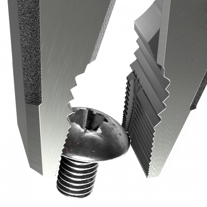 Cleste patent combinat extragere suruburi ENGINEER PZ-78, 225 mm, fabricat in Japonia-big