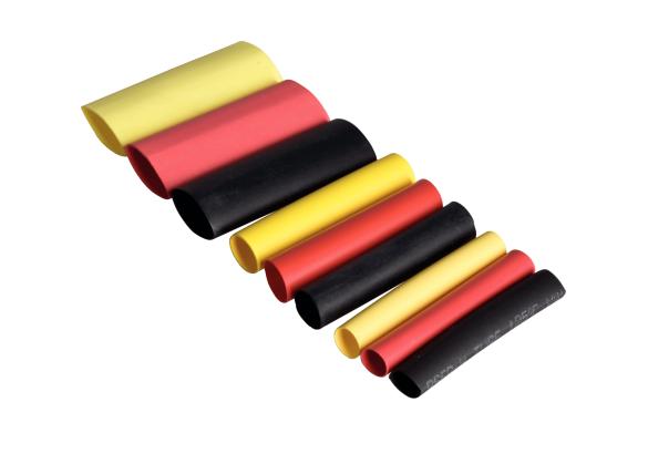 Tuburi termocontractante Set 36, 3-12 mm-big