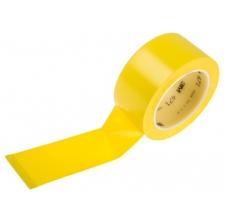 Banda marcare/protectie, 1 culoare, 3M 764I vinil, galben, 50mm X 33m, 24 role/cutie