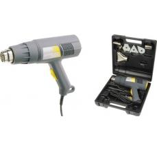 Pistol aer cald Accelerator 2000 W, 500l/min, 45/550ᄚC Kit cu raclete vopsea si 4 capete
