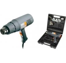 Pistol aer cald Regulator 2000 W, 500l/min, 60/600ᄚC Kit cu raclete vopsea si 4 capete