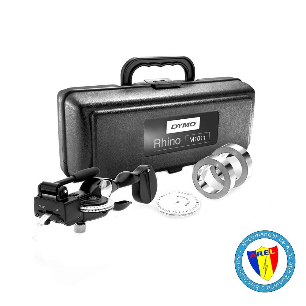 DYMO Rhino 1011 Industrial Label Maker Hard Case Kit 101110 S0720090  DE272941068